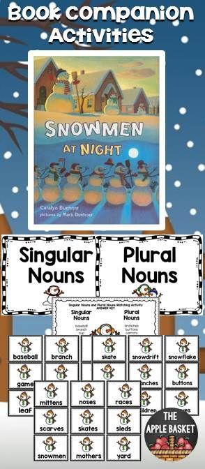 Snowmen at Night Literacy Activities