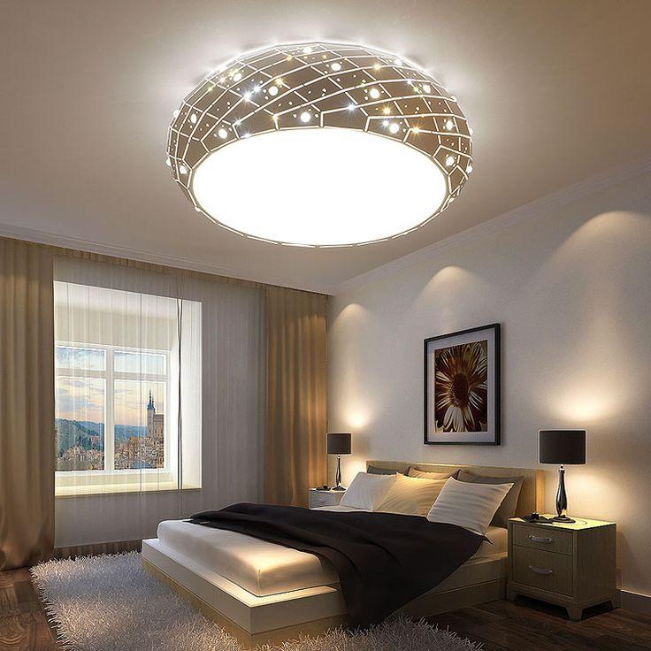 Lights lighting 1716 pinterest z novel round acryl children room ceiling light creative led living room bedroom lamp sweet star mozeypictures Gallery