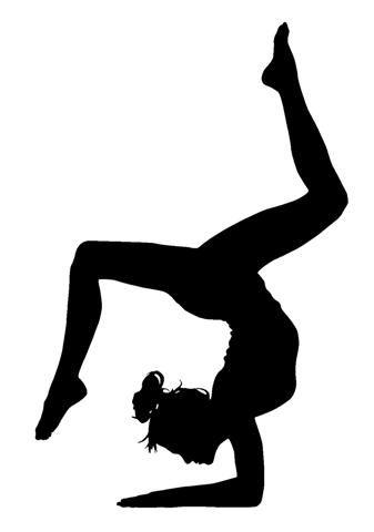 Gymnastics Pumpkin Template Gymnastics Pinterest