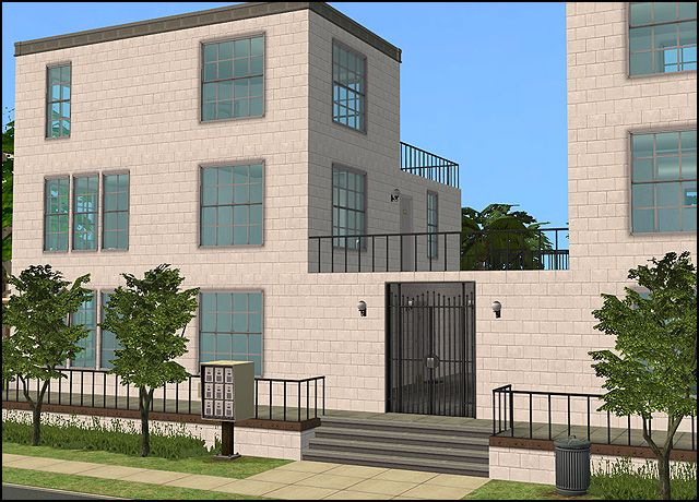 Bella Park Condominiums revamped - Anna's Sims