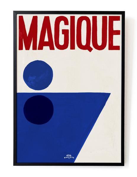 HOTEL MAGIQUE A splash of Magique art print SHOP ONLINE