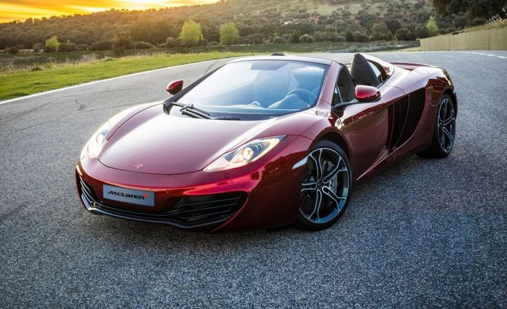 2013 McLaren MP4-12C Spider | HD