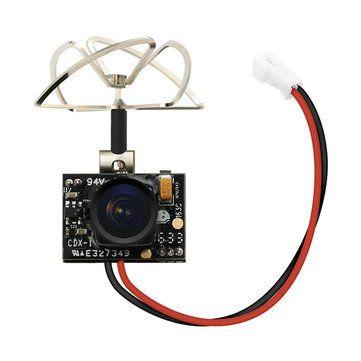 Eachine TX02 NTSC Super Mini AIO 5.8G 40CH 200mW VTX 600TVL 1/4 Cmos FPV Camera