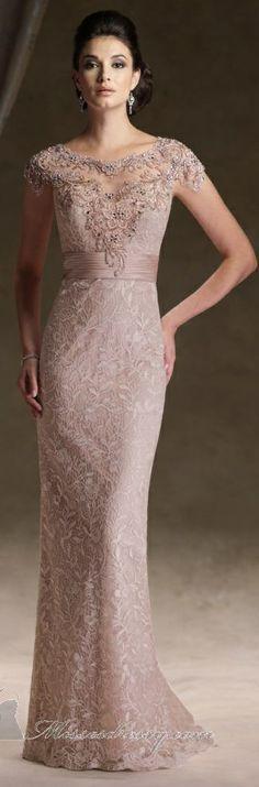 Sugestão de vestido de madrinha! Mon Cheri couture ~