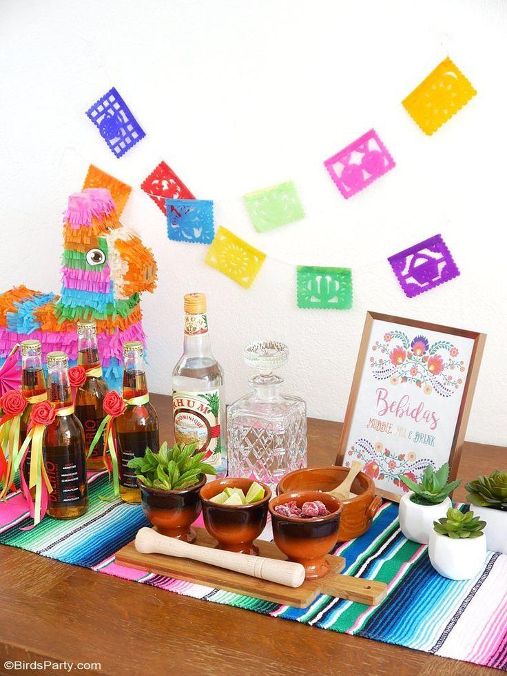 les 25 meilleures id es de la cat gorie fiesta mexicaine sur pinterest d cor de style mexicain. Black Bedroom Furniture Sets. Home Design Ideas