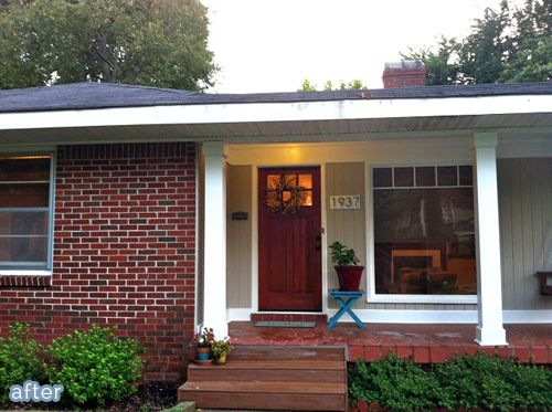 1000 ideas about brick exterior makeover on pinterest for 70s house exterior makeover