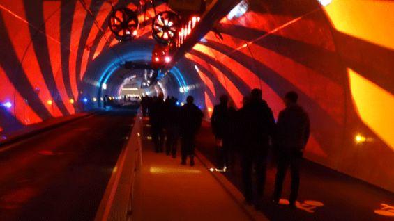 tunnel de la croix-rousse | Tunnel des modes doux de la Croix Rousse