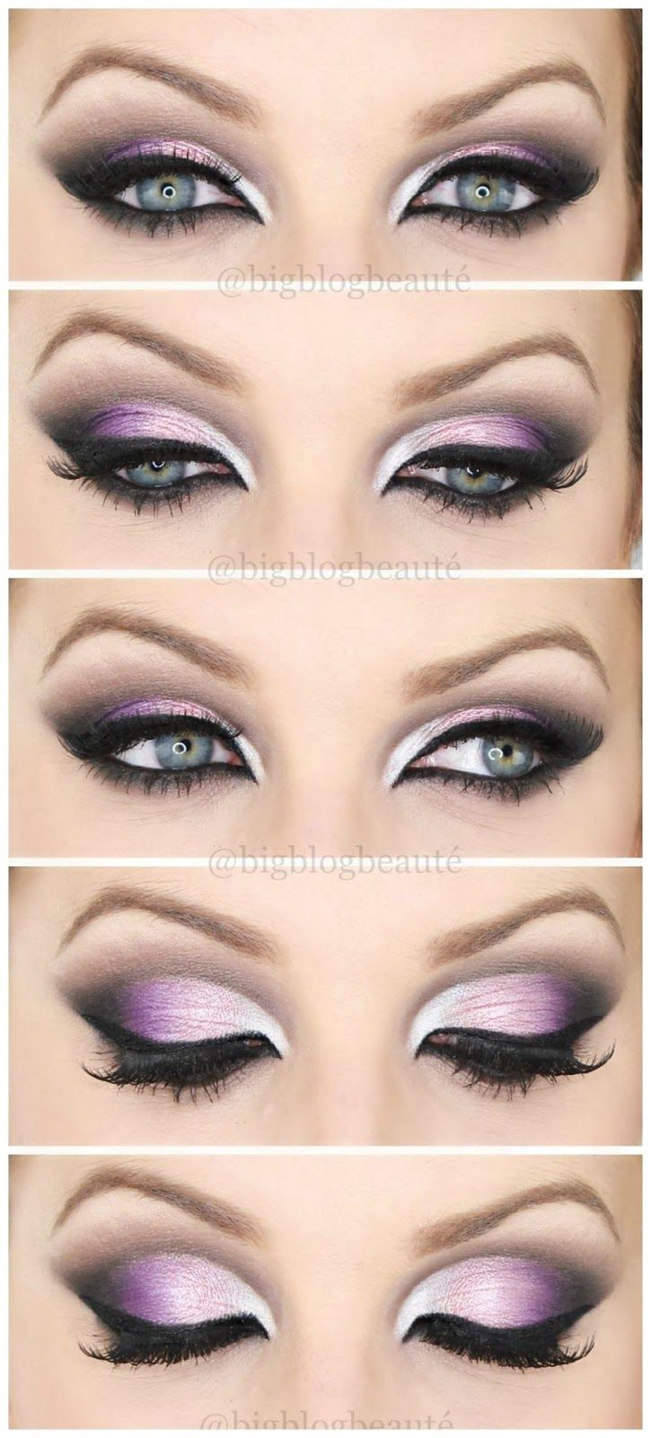 Arabic inspired - Tutoriel maquillage violet | Big Blog Beauté