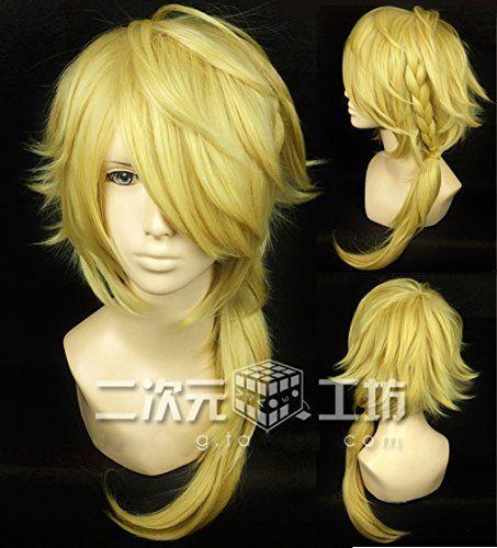 耐熱コスプレウィッグ 獅子王 刀剣乱舞ONLINE(とうらぶ)かつら cos wig  sunshine onlineが販売+おまけ