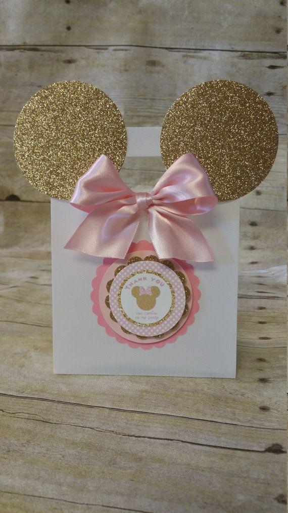 Sacs inspiré de Minnie Mouse Cotillons par HeidiPartyCreations