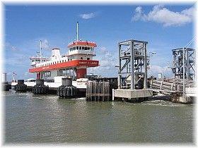 Galveston-Bolivar Ferry, Texas