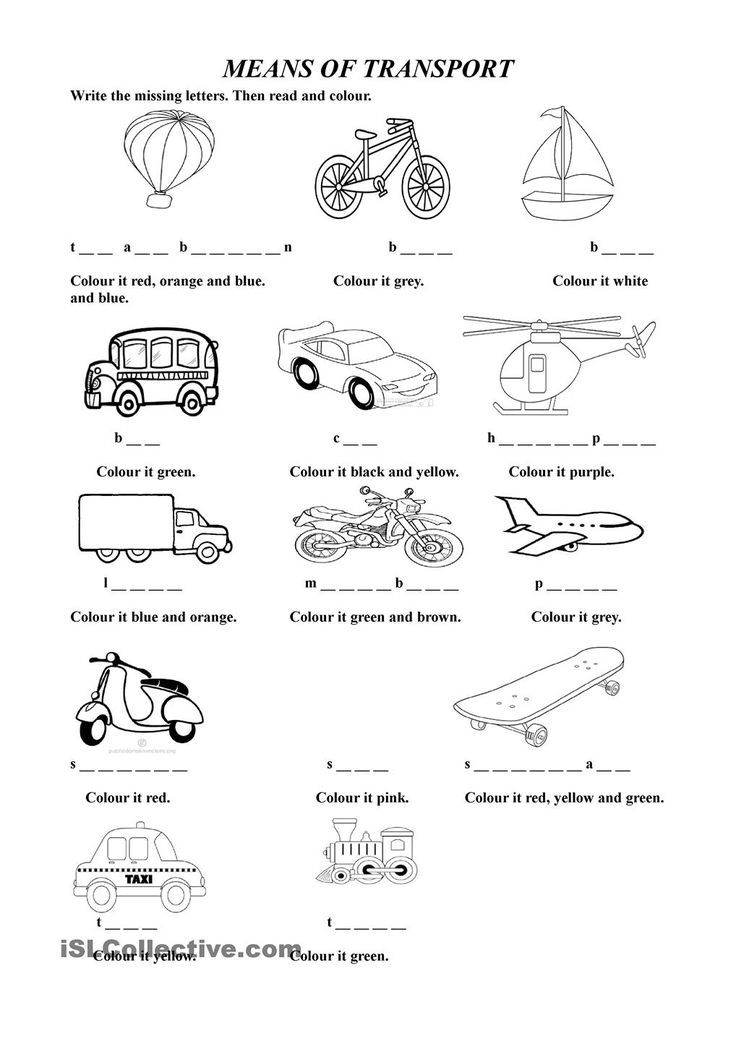 means of transport esl worksheets of the day spanish lessons for kids free english lessons. Black Bedroom Furniture Sets. Home Design Ideas