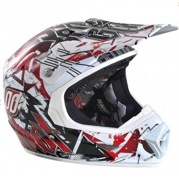 Casque Shot Furious Impact Rouge #casque #enfant #speedway #rouge #moto #cross #motocross
