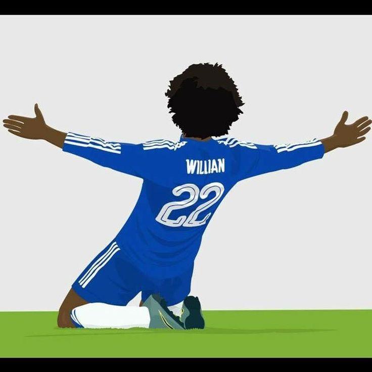 Willian #Chelsea and #Brazil
