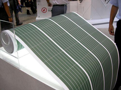 Flexible type solar power panels. http://solar-panels-for-your-home.co/flexible-solar-panels.html Flexible Solar Cell