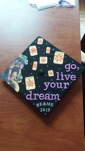 And I never posted my completed graduation cap :) be= bachelor's of engineering, me= masters of engineering, I played on the softball team, am a brother of Alpha Phi Omega, and interned at disney :)