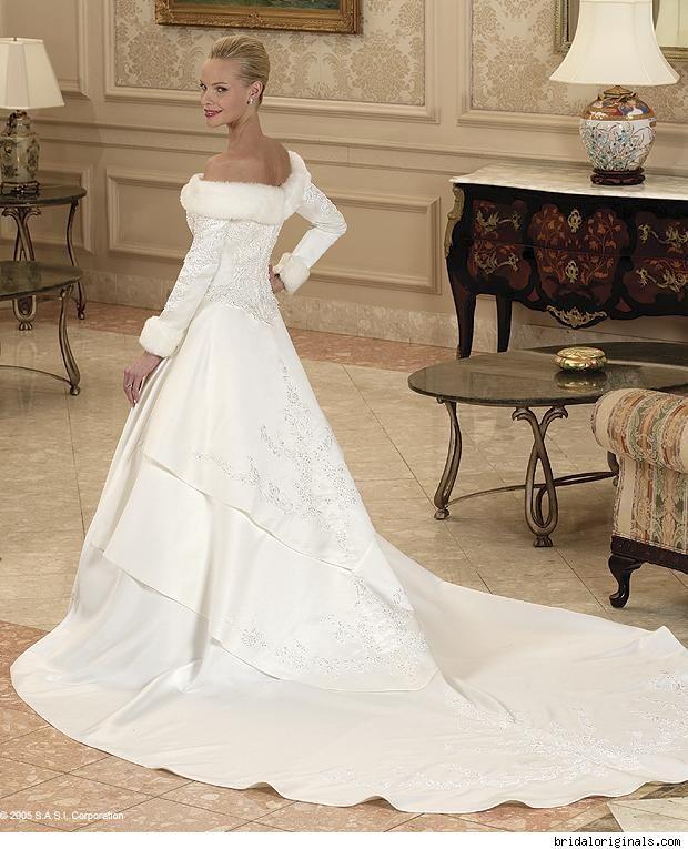 #winter #wedding #dress