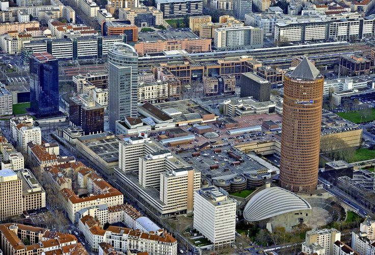 Quartier de La Part-Dieu a Lyon