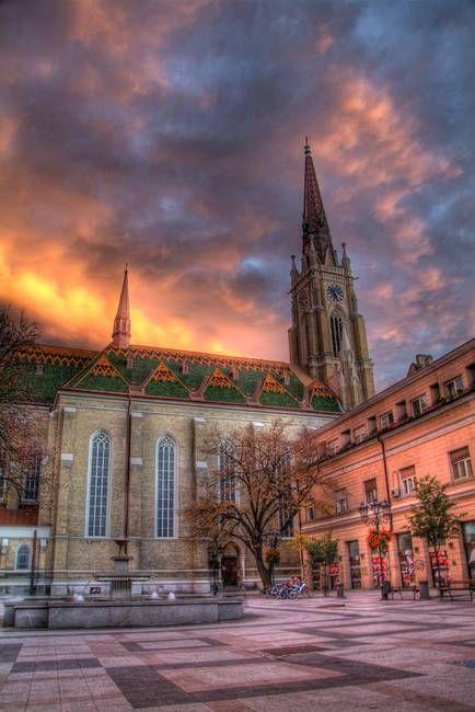 Cathedral in Novi Sad by Haris Nikolovski