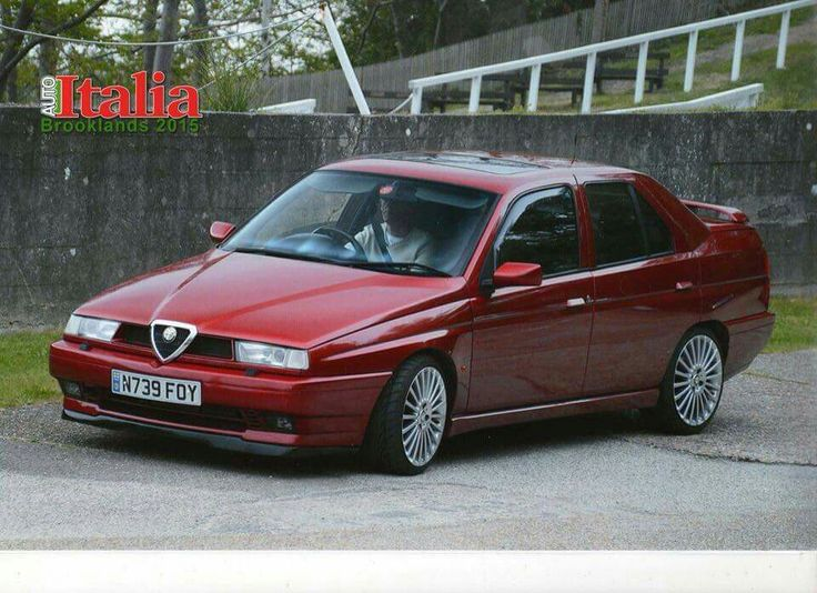 57 Best Alfa Romeo Zagato 155 Images On Pinterest