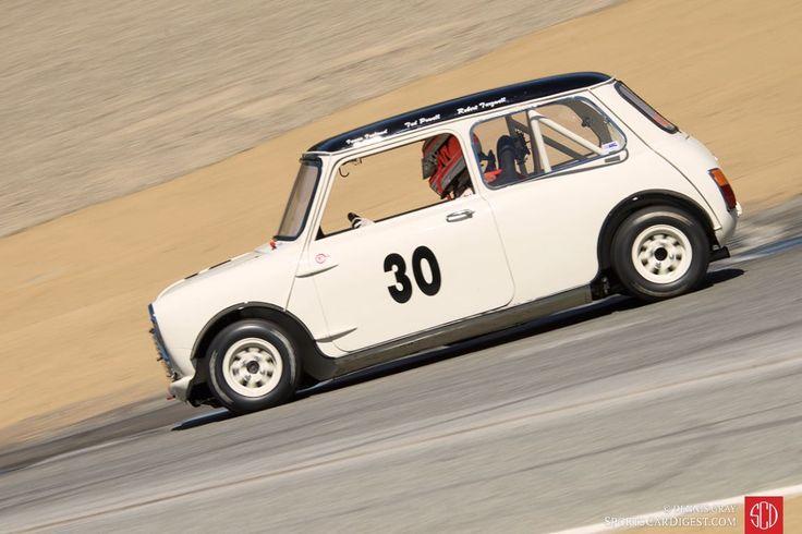 1962 Austin Mini Cooper.
