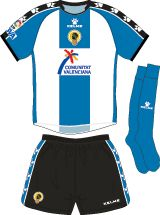 Hercules Alicante of Spain home kit for 2006-07.