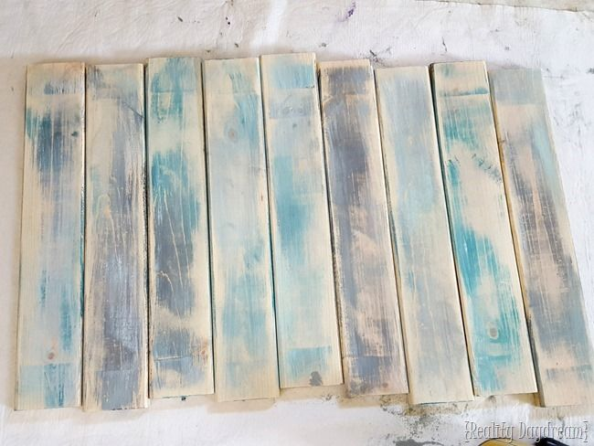 3 passos para fazer a madeira novo olhar como legítimas velhas tábuas celeiro {Reality Daydream}