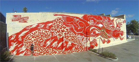 Yok and Sheryo Mural