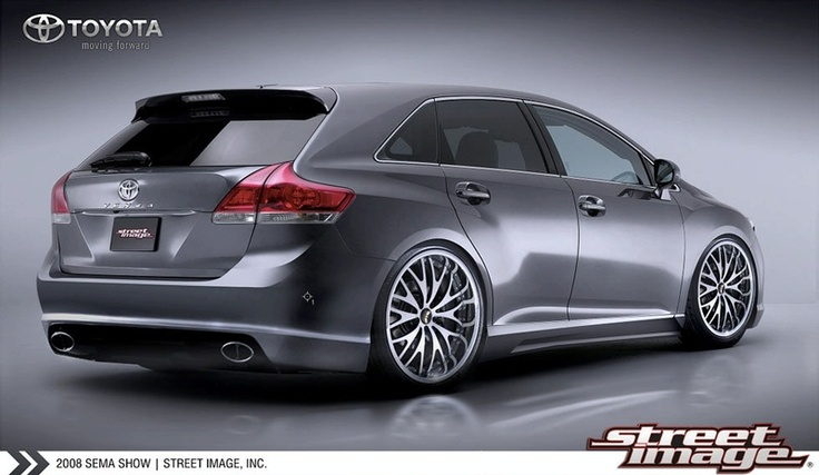 tuned cars -Toyota Venza