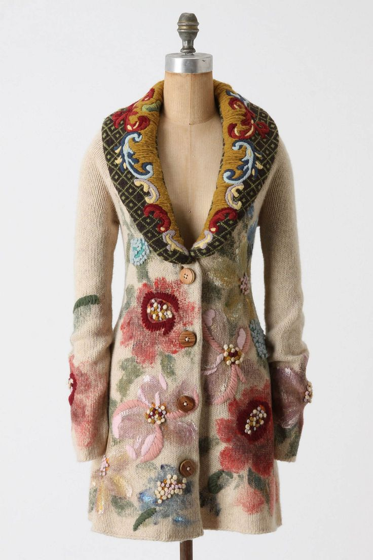 Coat from Anthropologie.