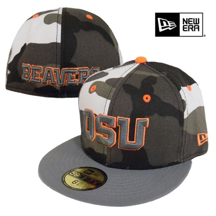 oregon state baseball apparel shop beavers hats new era urban fitted hat
