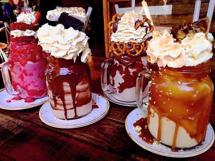 Milk-shakes exuberantes são tendência gastronômica para 2016