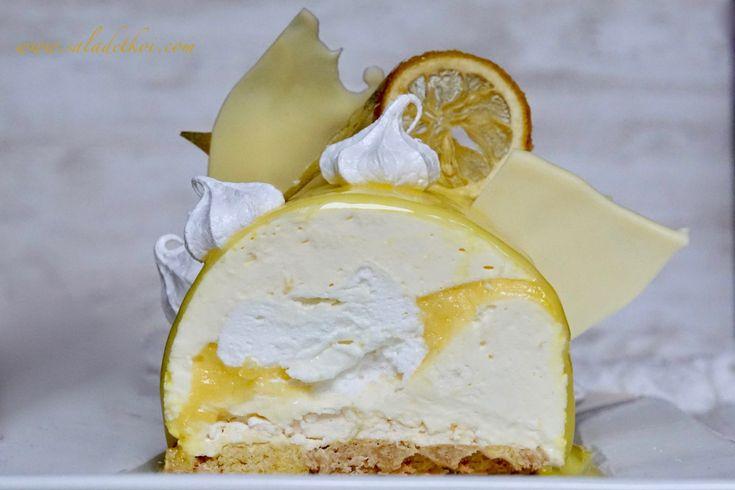bûche citron meringuée thermomix