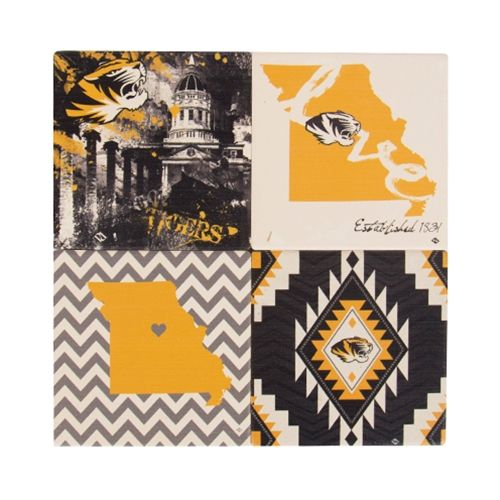 New #Mizzou stylish coasters available online and in-store at The Mizzou Store.