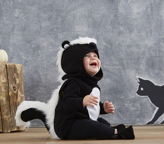 Baby Skunk Costume | Pottery Barn Kids