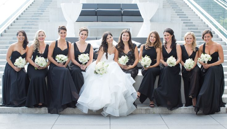 Malaparte Terrace wedding party just girls