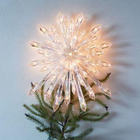 Stella Luminosa Di Natale.Puntale Albero Di Natale 10 Idee Per Realizzarlo In Modo Creativo