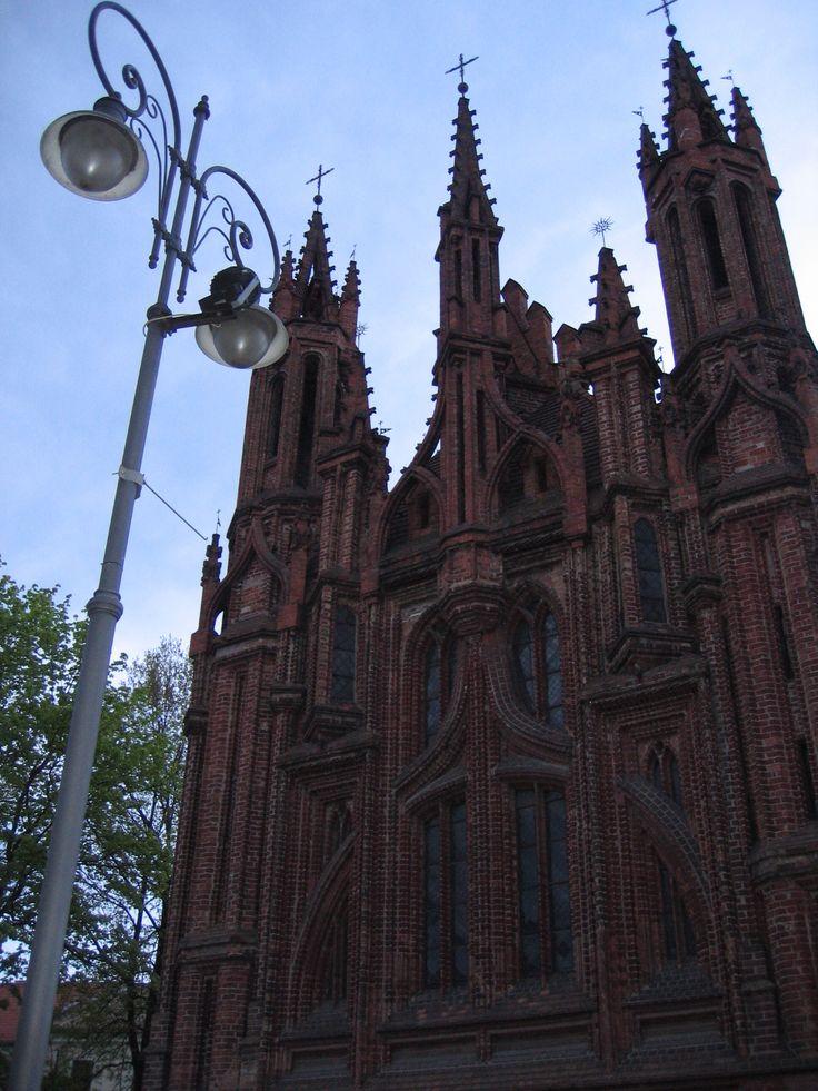 St. Anna's cathedral , Vilnius