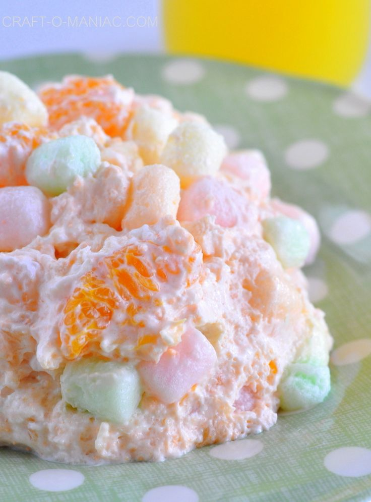 fruit fluff salad 2