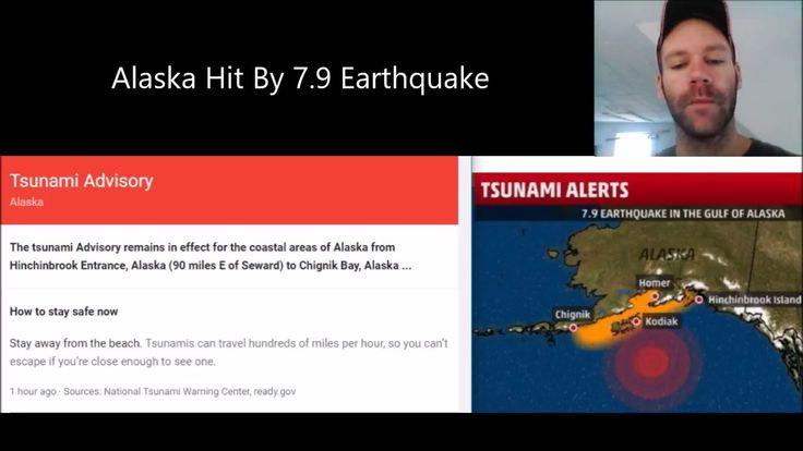 Earthquake Today Alaska - Huge - Breaking Video