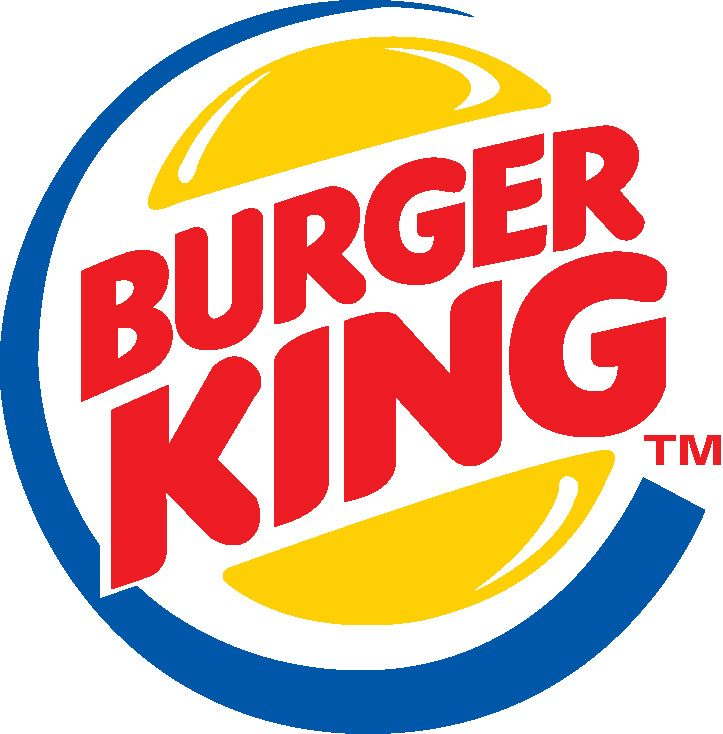 The burger king symbol is just as popular as the mc donald symbol. This logo is well known by people. When people see this logo they think about go and have some food.