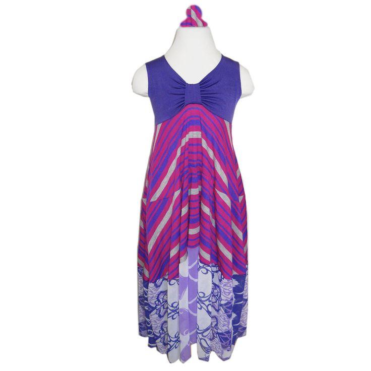 TwirlyGirl - Marvelous Maxi Dress Purple Maxi Dress For Girls Summer | Violet Cherry Swirls, $67.00 (http://www.twirlygirlshop.com/purple-maxi-dress-for-girls/)