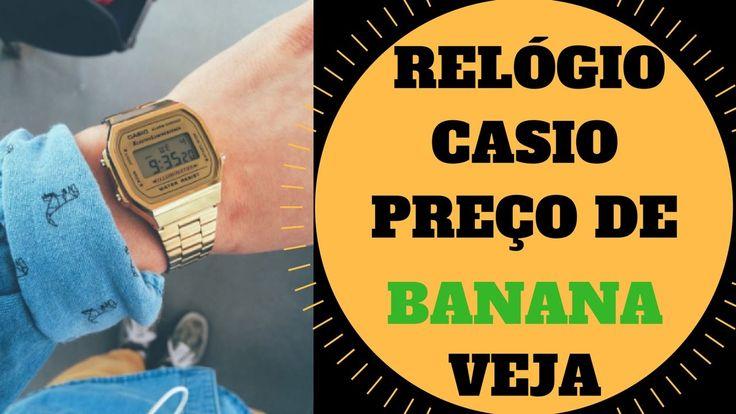 ABSURDO! Relógio Casio Original Por preço de BANANA até 3X Mais BARATO!