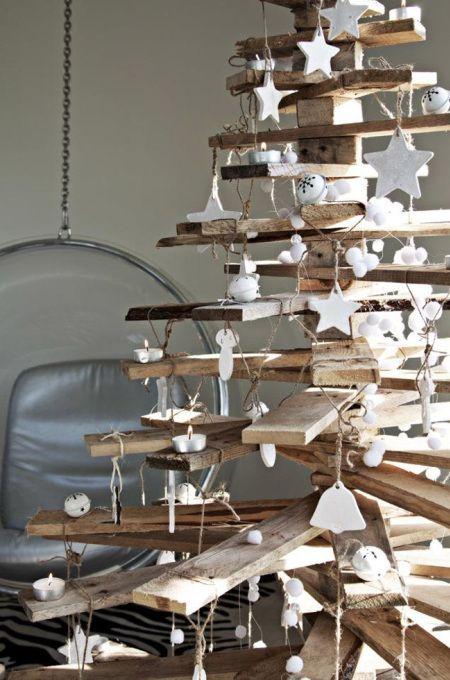 12 Creative Alternatives to Your Christmas Tree