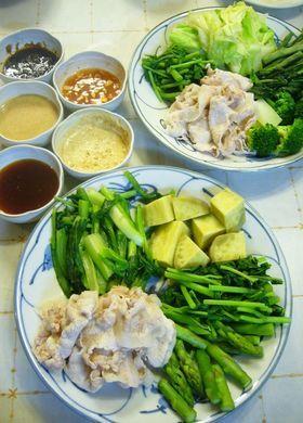 彩り温野菜と豚しゃぶで野菜パーティー♪ by チャーミル [クックパッド ...