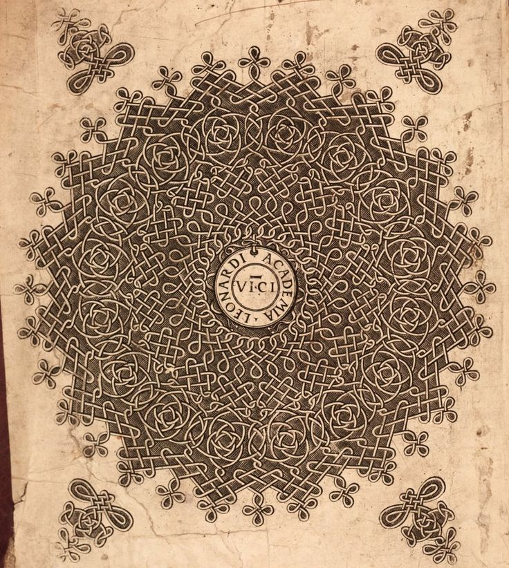 Bookplate on the inside cover of an early 16th century version of 'The Annals of Ulster'