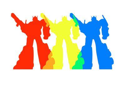 Optimus Prime Colors by Christopher.: Color Art, Prime Aries Colors, Colors Art, Prime Colors, Autobot