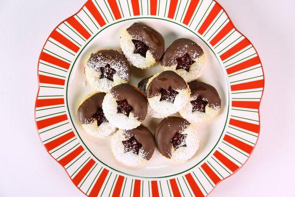 Valentine Shortbread Cookie Sandwiches Recipes — Dishmaps