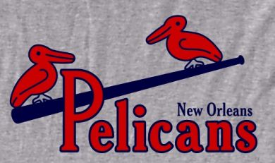 The old New Orleans Pelicans minor league baseball team.