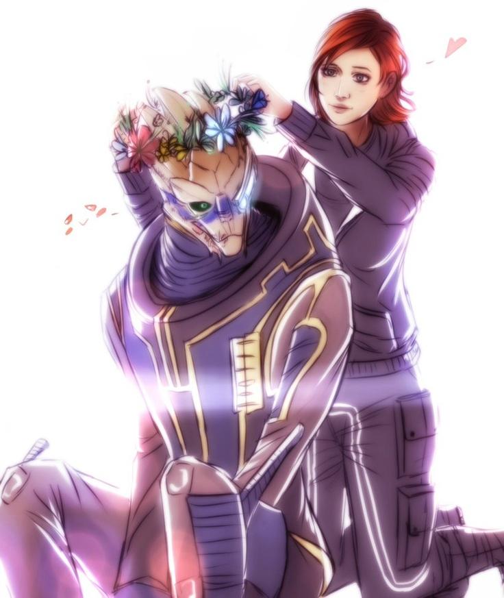 Huh, Shepard?.. by ~Nateyou on deviantART (Shepard being a girly girl)